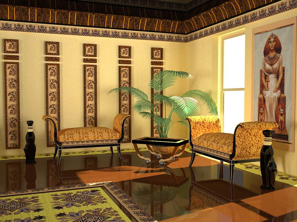 Дизайн квартир в египте